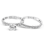 Simon G NR130 WEDDING SET