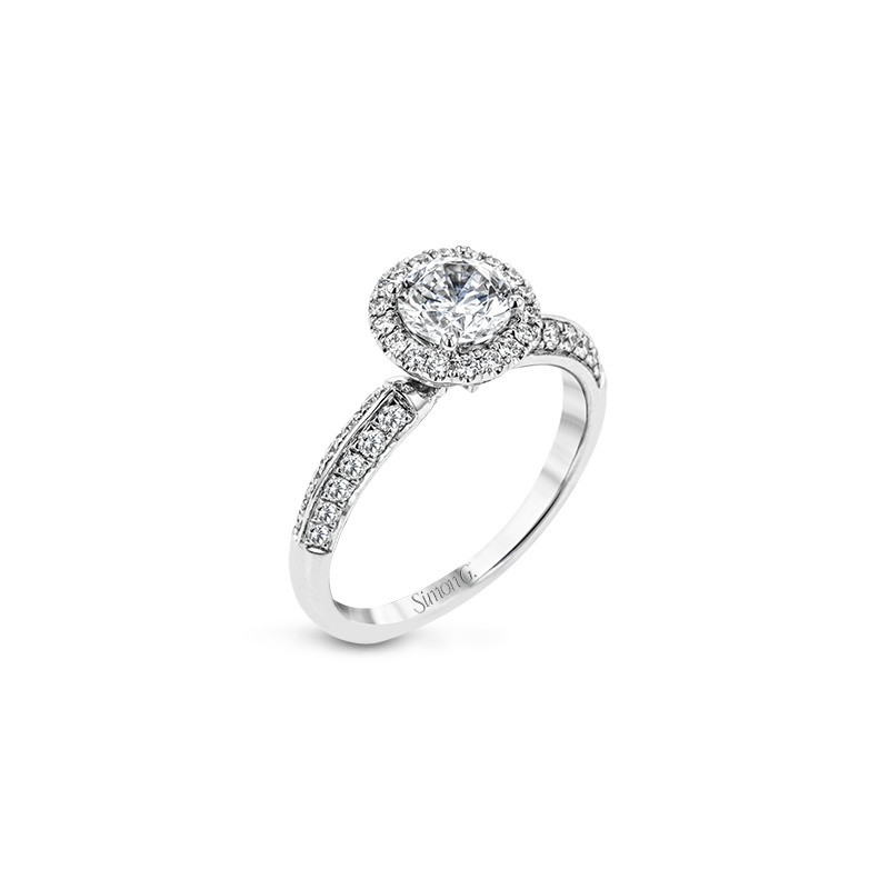 Simon G LR2139 ENGAGEMENT RING