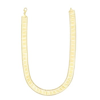 14K Gold Fancy Link Chain