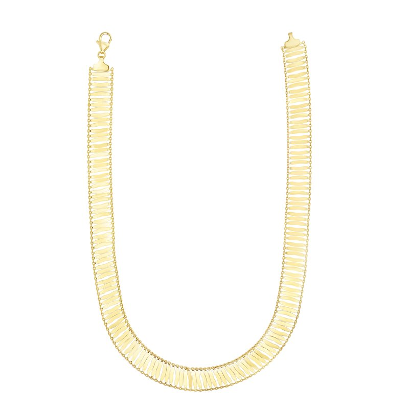 Royal Chain 14K Gold Fancy Link Chain