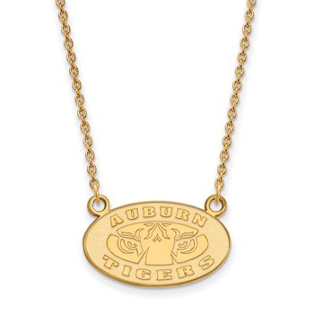 Gold-Plated Sterling Silver Auburn University NCAA Necklace