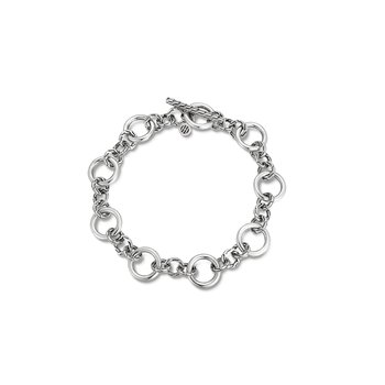 Classic Chain Link Station Bracelet