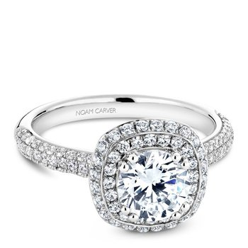 Noam Carver Vintage Engagement Ring B146-10A