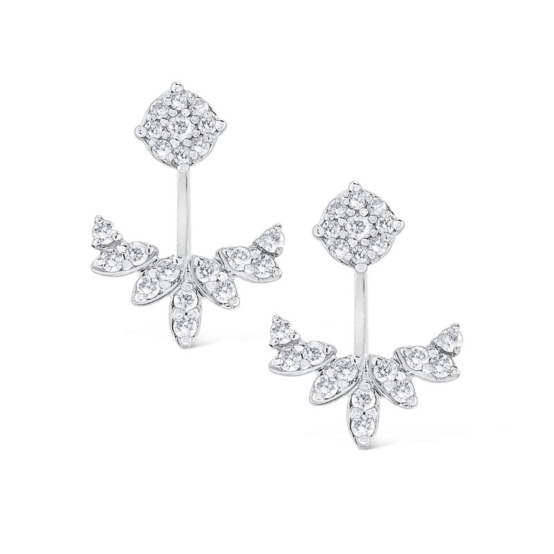 KC Designs 14K Gold and Diamond Earring Studs/Jackets