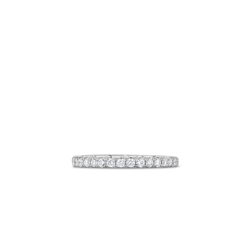 Roberto Coin 18Kt Gold Eternity Band Ring With Diamonds