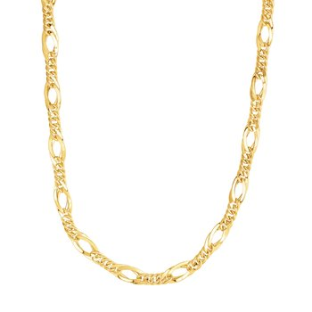 14K Gold Polished Link Chain