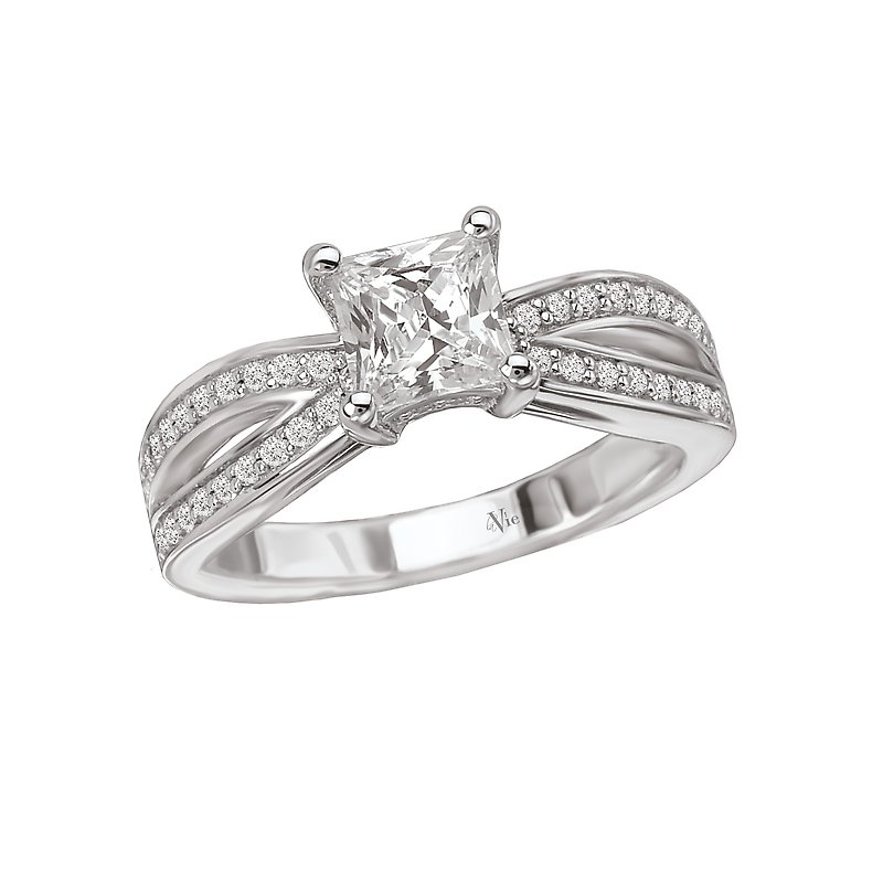 LaVie Split Shank Semi-Mount Ring