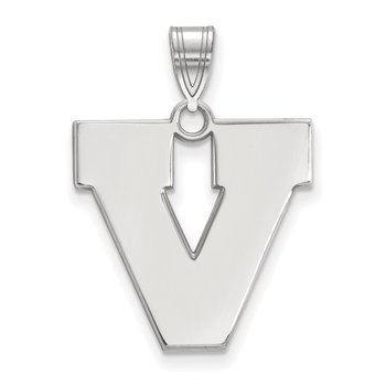 Gold University of Virginia NCAA Pendant