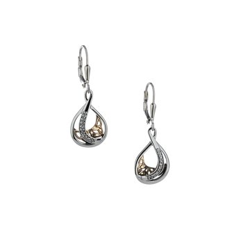 Trinity Teardrop Earrings