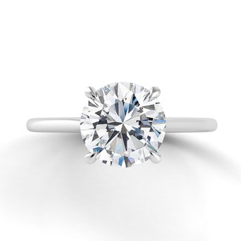 Classico Single Shank Engagement Ring