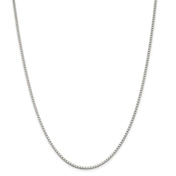 Sterling Silver 2mm Box Chain