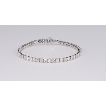 6.52 Cttw Diamond Tennis Bracelet