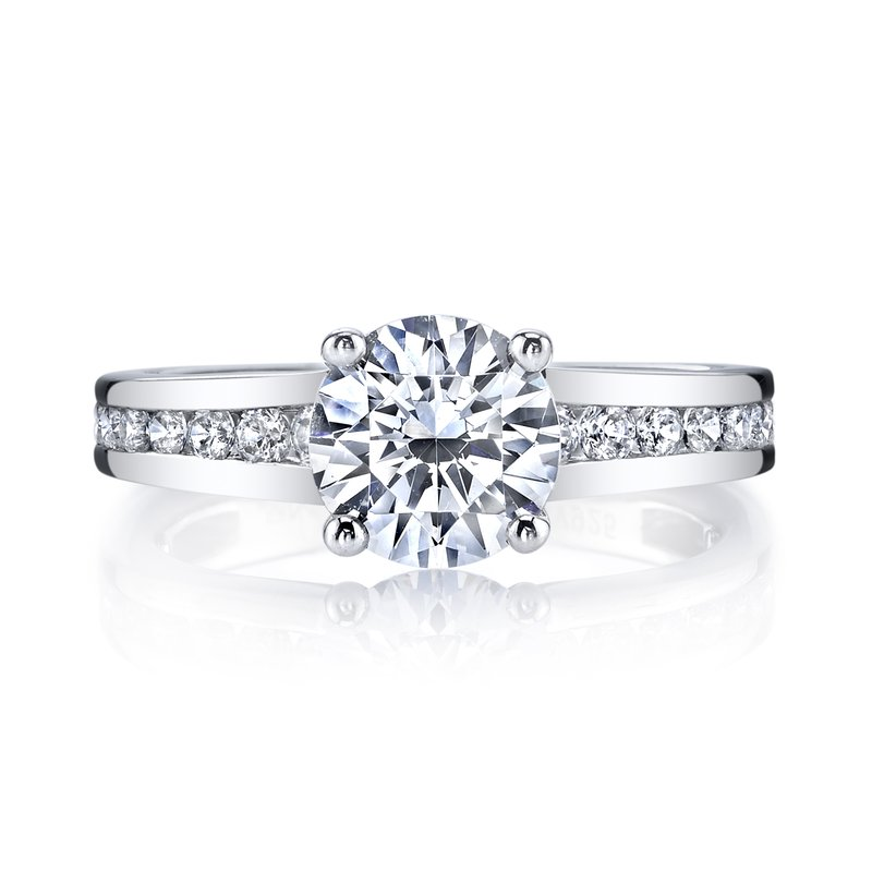 MARS Jewelry MARS 25971 Diamond Engagement Ring 0.60 Ctw.