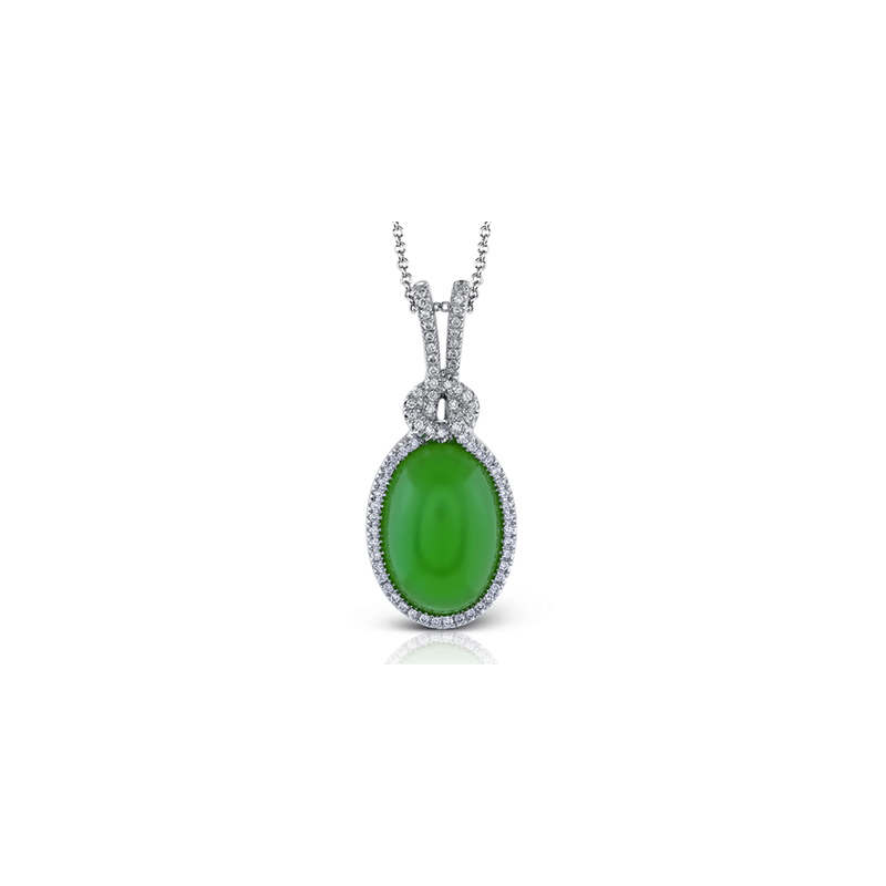Zeghani ZP406 COLOR PENDANT