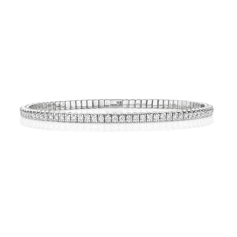 Treasure Diamond Stretch Bangle