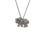 Roberto Coin 18Kt Gold Diamond Elephant Pendant