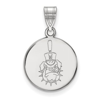 Sterling Silver The Citadel NCAA Pendant
