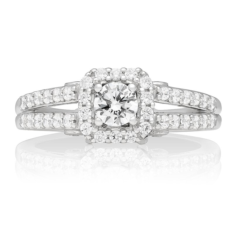 Veer Diamonds ANNETTE CARRIAGE RING