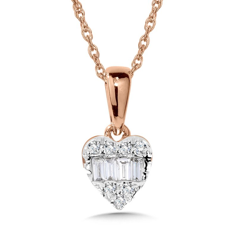 SDC Creations 10K Diamond Heart Pendant