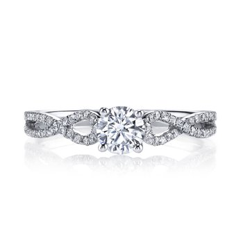 25390 Diamond Engagement Ring 0.20 ct tw