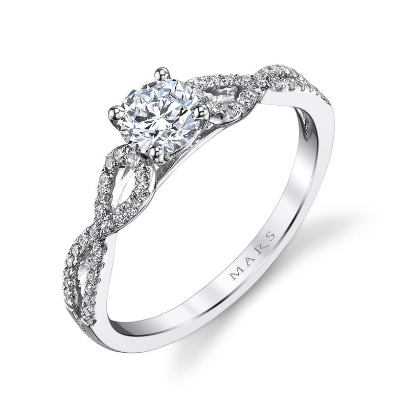 MARS Jewelry - Engagement Ring 25390