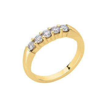Diamond Band Prong Set