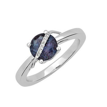 Alexandrite Ring-CR12372WAL