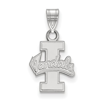 Sterling Silver University of Idaho NCAA Pendant