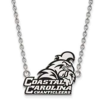 Sterling Silver Coastal Carolina University NCAA Necklace