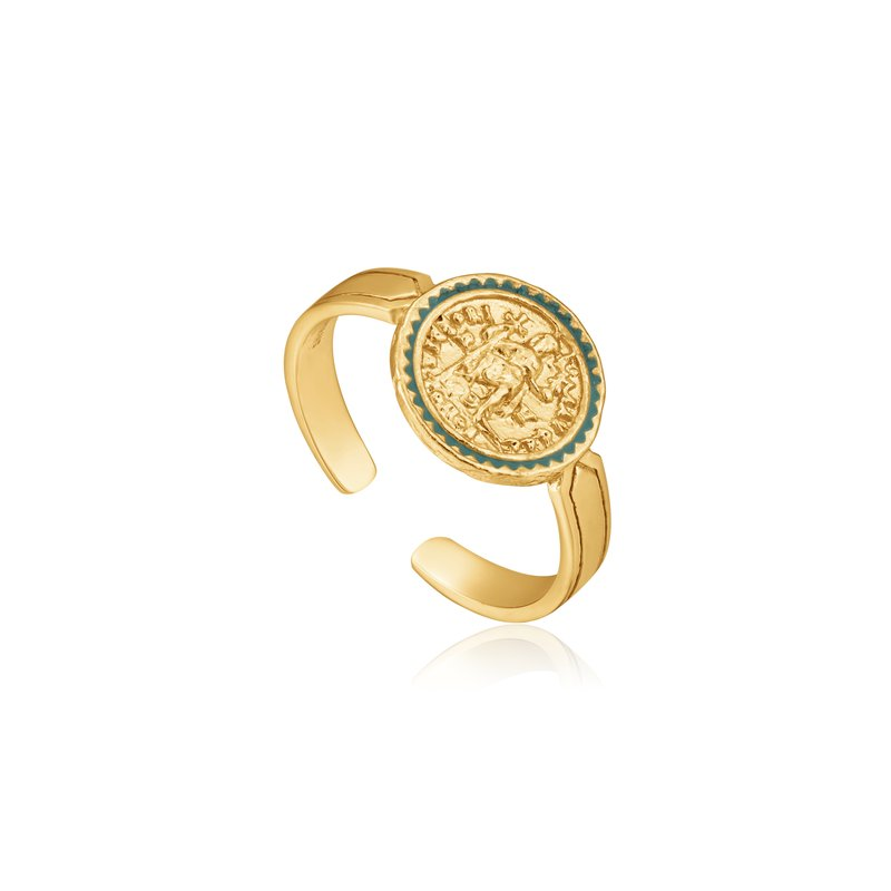 Ania Haie EMPEROR ADJUSTABLE RING