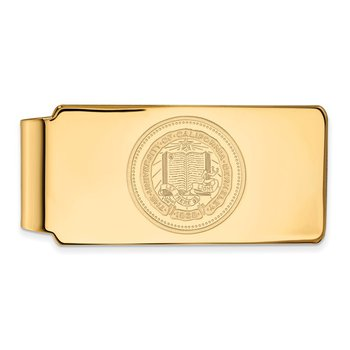 Gold-Plated Sterling Silver University of California Berkeley NCAA Money Clip