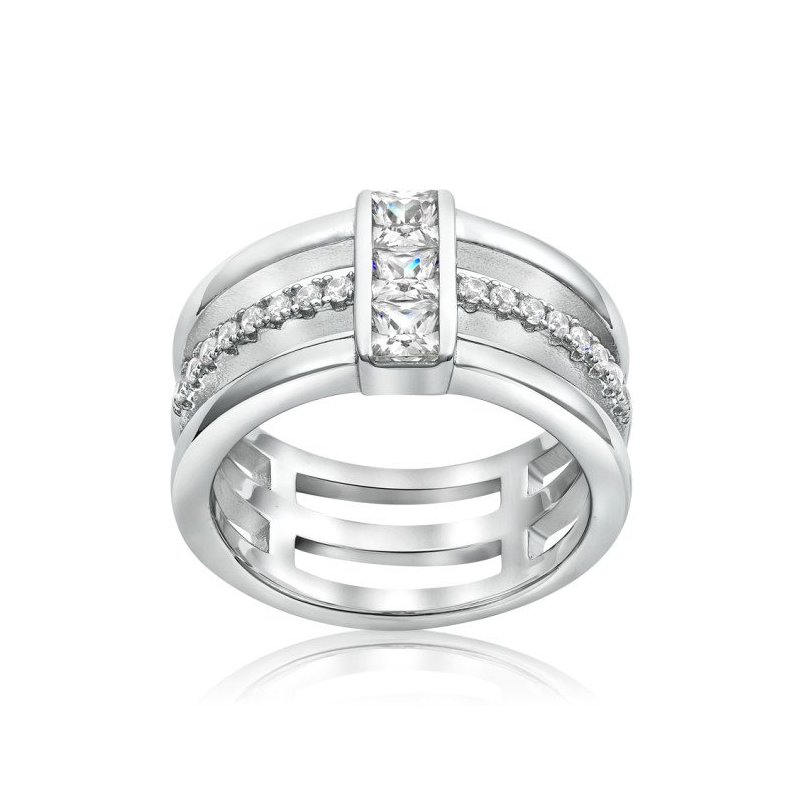 LARUS Jewelry Wide Band Ring