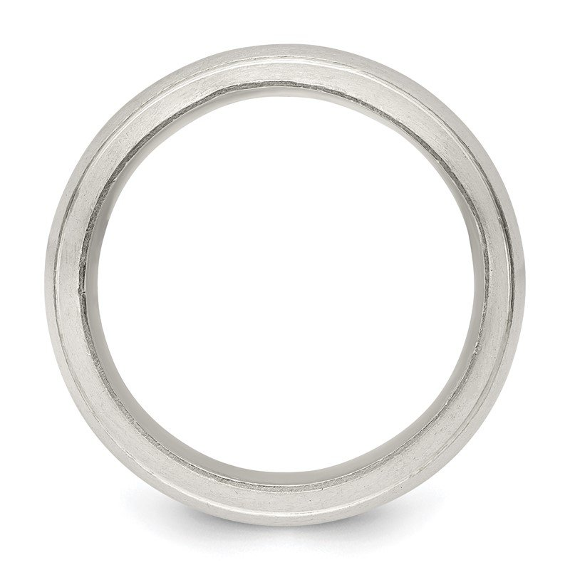 Quality Gold Sterling Silver 9mm Satin Finish Band