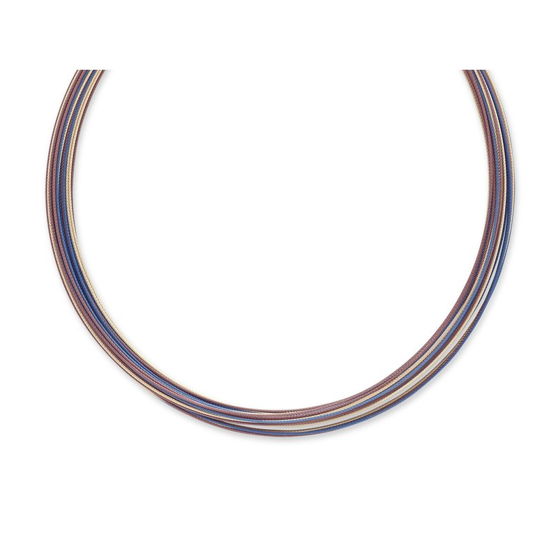 ALOR Micro Cable Necklace