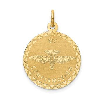 14k My Confirmation Pendant