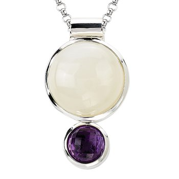 Ladies Gemstone Necklace