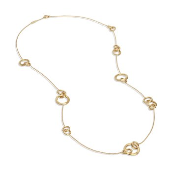 Jaipur Link Gold Long Necklace