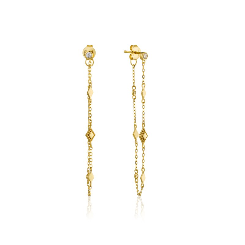 Ania Haie Bohemia Chain Stud Earrings