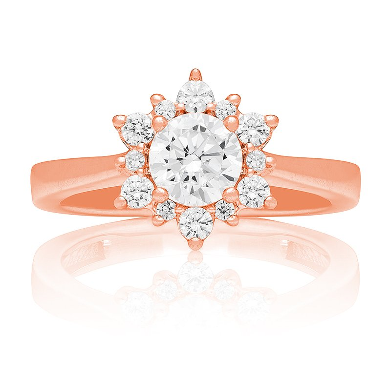 Veer Diamonds SNOWFLAKE RING