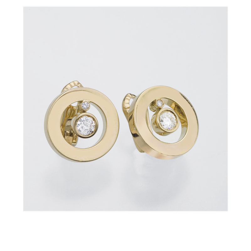 Roberto Coin Cento O Earrings