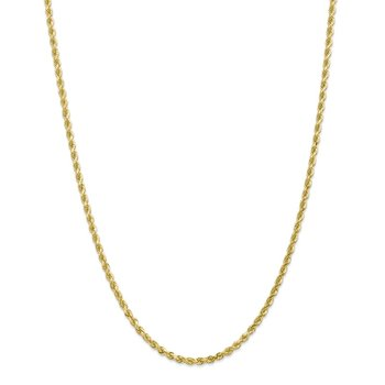 Leslie's 10K 3.00mm Diamond Cut Rope Chain