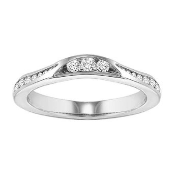 14K Diamond Destiny Band 3/8 ctw