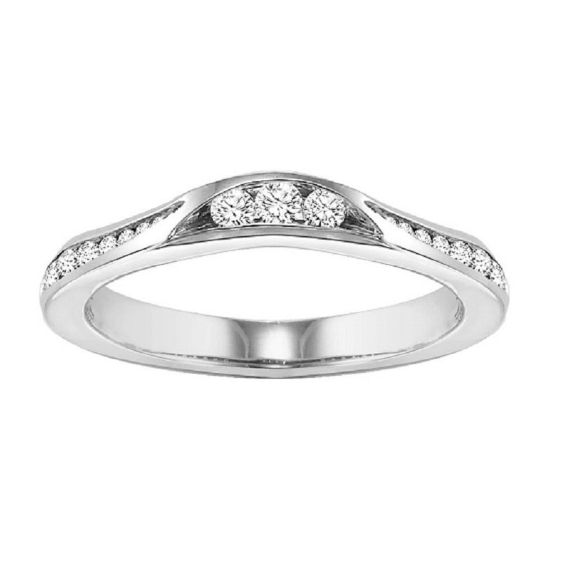 Bridal Bells 14K Diamond Destiny Band 3/8 ctw