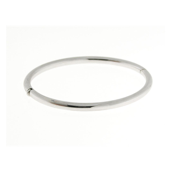 18KT GOLD CLASSIC ROUND BANGLE