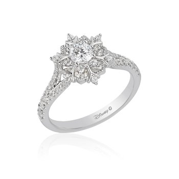 14KW 5/8CTW Elsa Bridal Ring