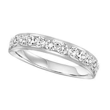 14K Diamond Band 3/4 ctw