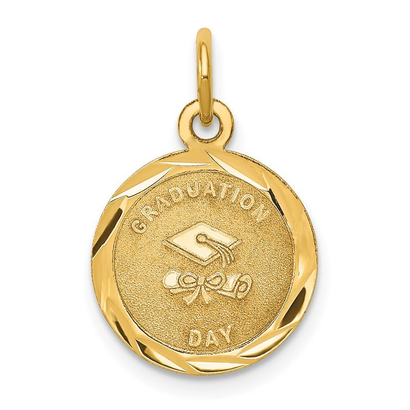 Quality Gold 14k GRADUATION DAY Charm