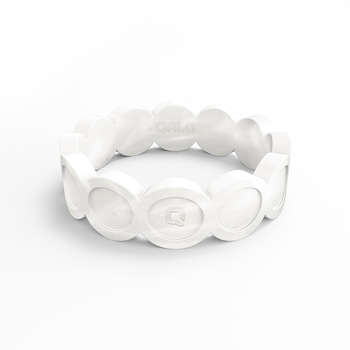 Women's Scallop Pearl Silicone Ring