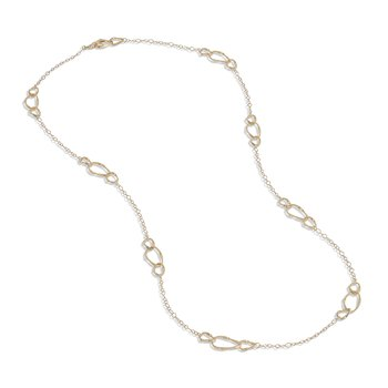 Marrakech Onde Collection 18K Yellow Gold Link Necklace