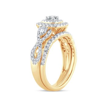 14K 01.00Ct Diamond Band